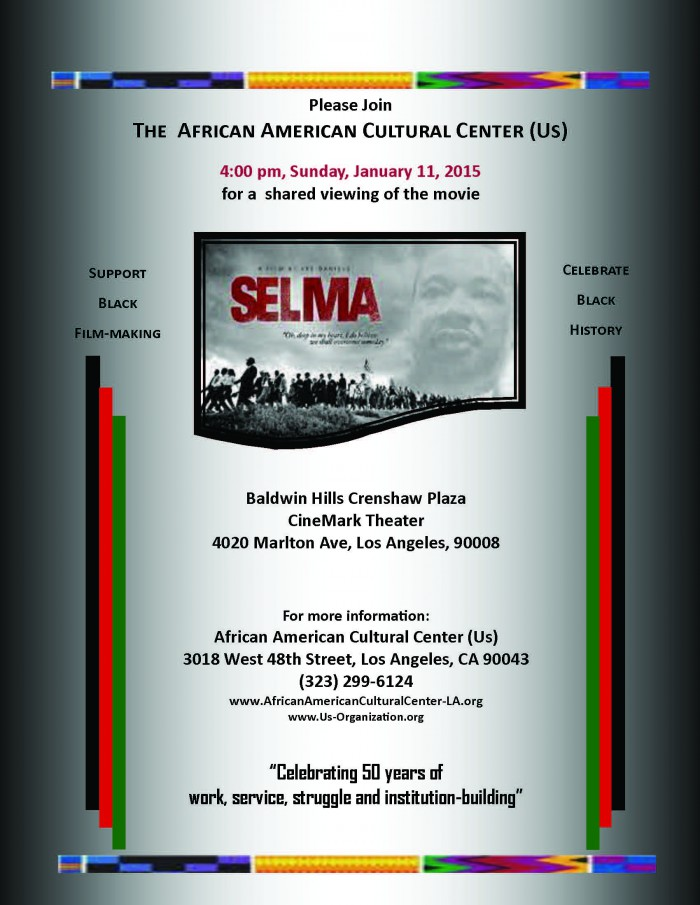01-11-15 Selma--Shared Movie Viewing
