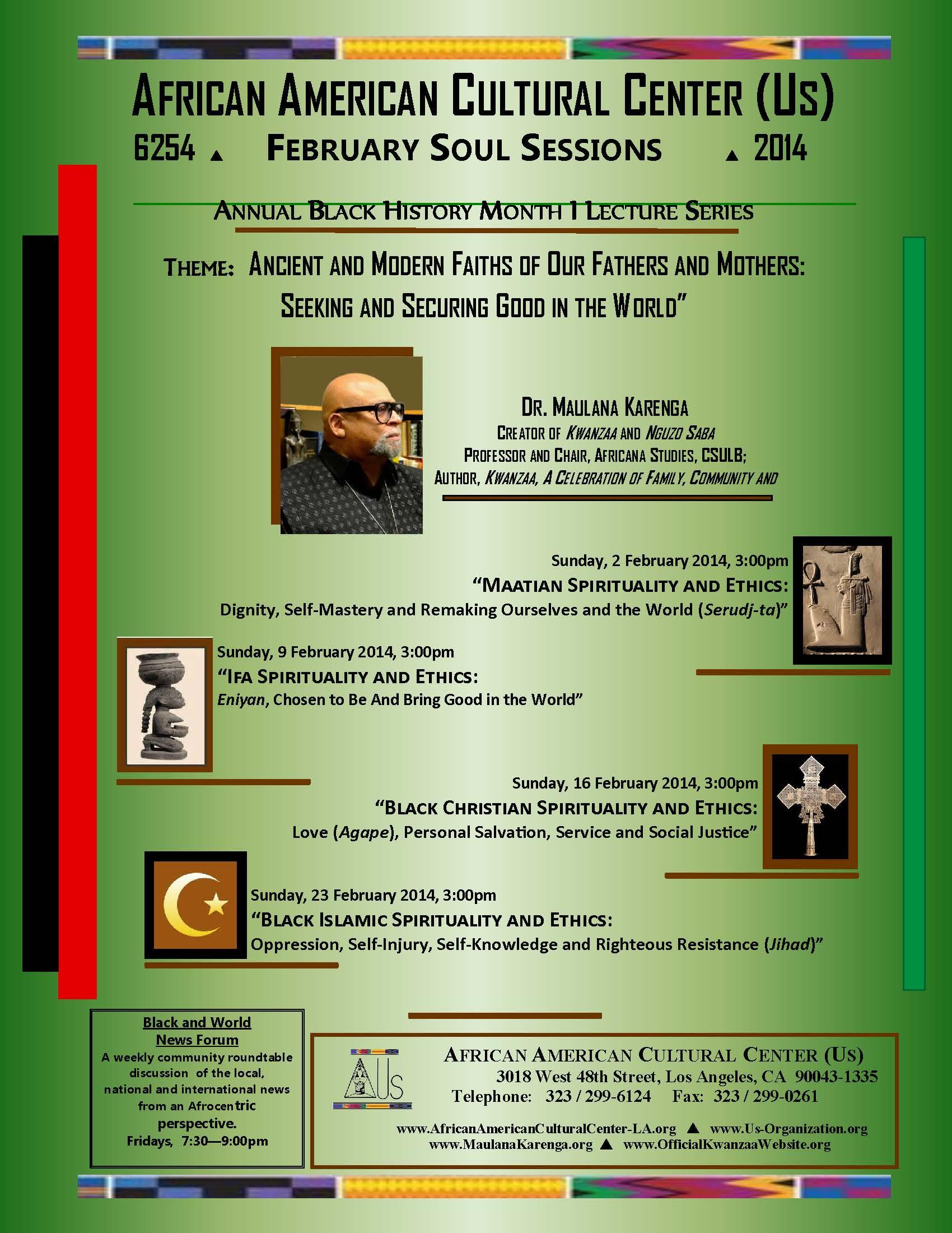 02-2014 Dr. Maulana Karenga--BHM-01