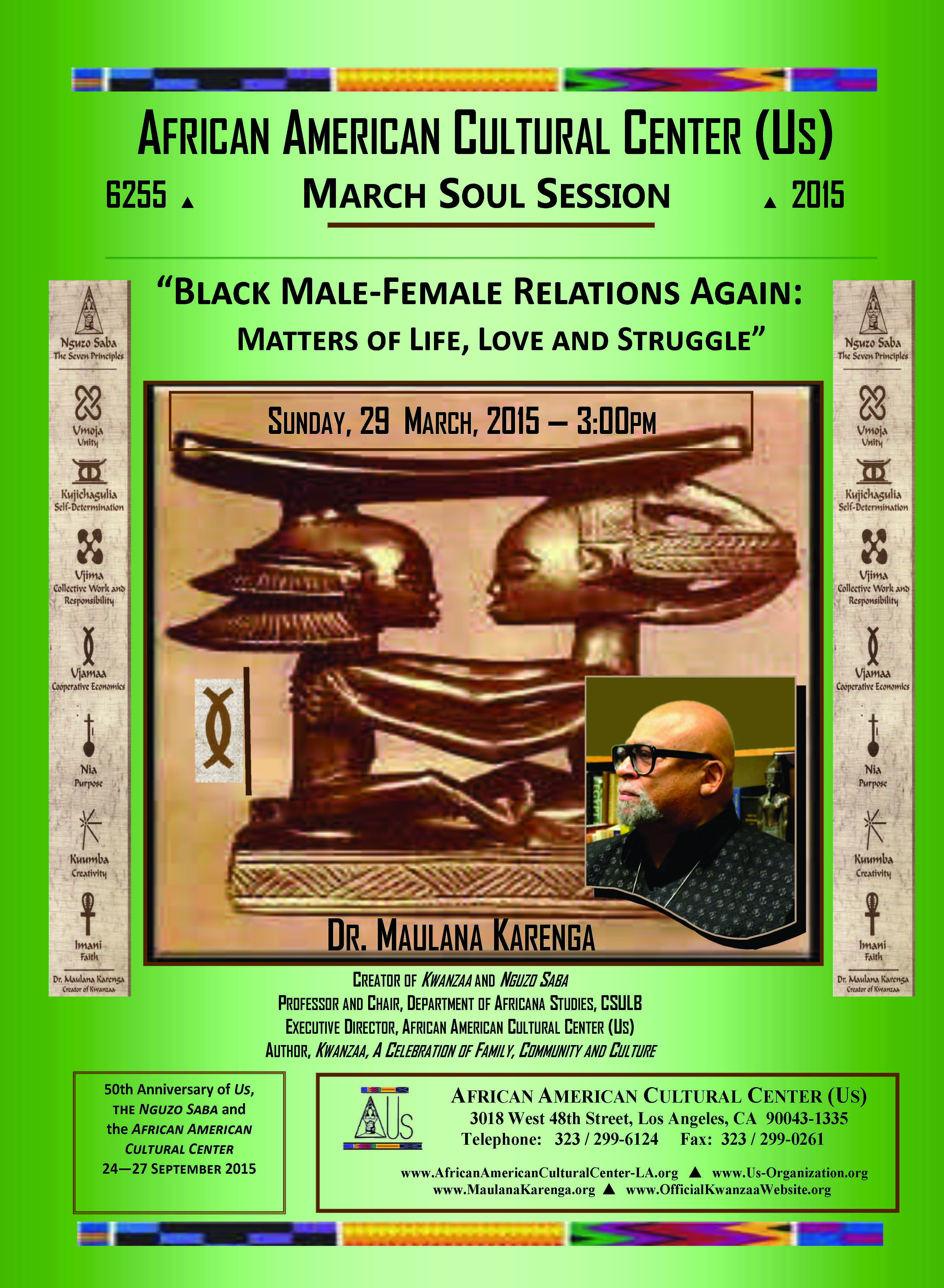 03-29-15 Dr. Maulana Karenga--Black Love Again