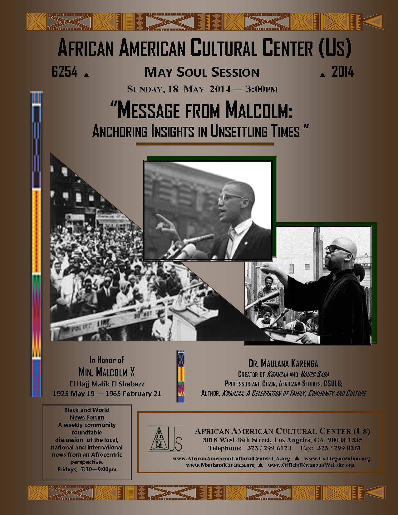 05-18-14 Dr. Maulana Karenga--MX