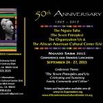50th Anniversary Nguzo Saba 2015 Final