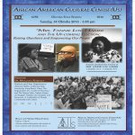 Fannie Lou Hamer the Coming Election--Dr MaulanaKarenga 10-30-16