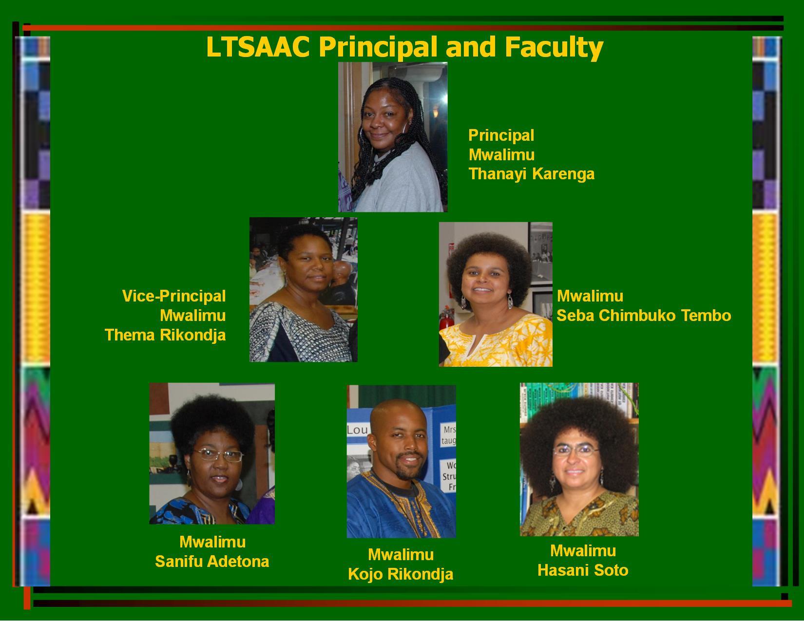 LTSAAC Staff 2014