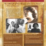 Soul Sessions – October 2018 – Mrs. Fannie Lou Hamer 10-07-18